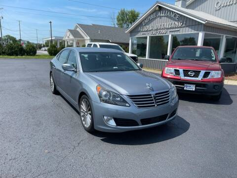 2015 Hyundai Equus for sale at Empire Alliance Inc. in West Coxsackie NY