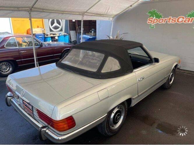 1972 Mercedes-Benz 450 SL for sale in Cadillac, MI