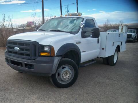 2007 Ford F-450 Super Duty for sale at Samcar Inc. in Albuquerque NM