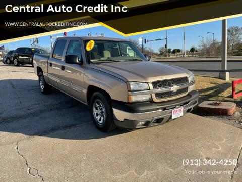 2005 Chevrolet Silverado 1500 for sale at Central Auto Credit Inc in Kansas City KS