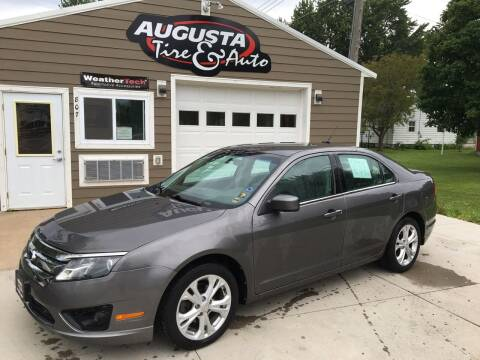 2012 Ford Fusion for sale at Augusta Tire & Auto in Augusta WI