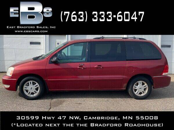 2004 Ford Freestar for sale at East Bradford Sales, Inc in Cambridge MN