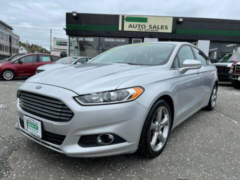 2013 Ford Fusion for sale at Wakefield Auto Sales of Main Street Inc. in Wakefield MA