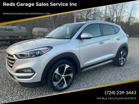 2017 Hyundai Tucson for sale at Reds Garage Sales Service Inc in Bentleyville PA