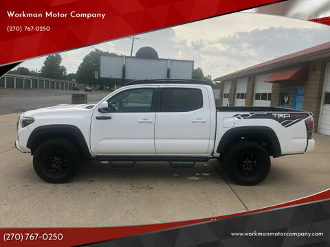 2019 Toyota Tacoma for sale at Workman Motor Company in Murray KY