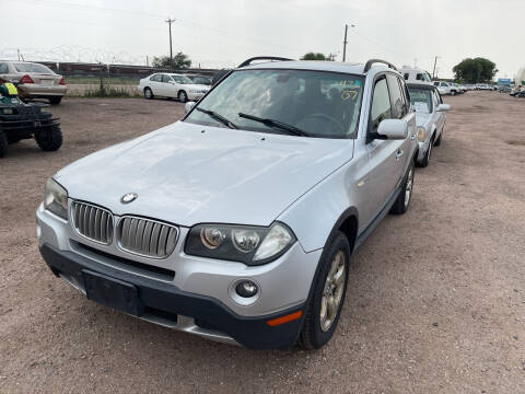 2007 BMW X3 for sale at PYRAMID MOTORS - Fountain Lot in Fountain CO