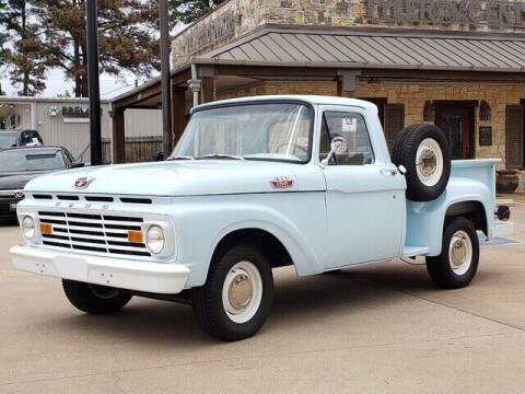1963 Ford F-100 for sale at Tyler Car  & Truck Center in Tyler TX
