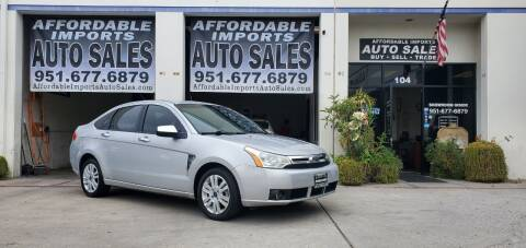 2008 Ford Focus for sale at Affordable Imports Auto Sales in Murrieta CA