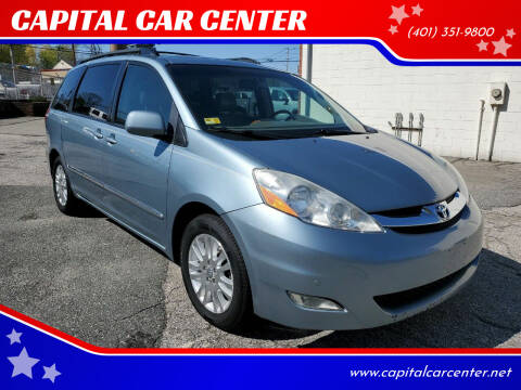 2008 Toyota Sienna for sale at CAPITAL CAR CENTER in Providence RI