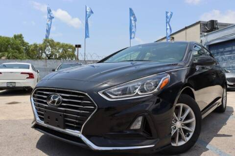 2019 Hyundai Sonata for sale at OCEAN AUTO SALES in Miami FL