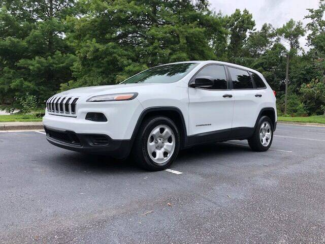 2014 Jeep Cherokee for sale at Lowcountry Auto Sales in Charleston SC
