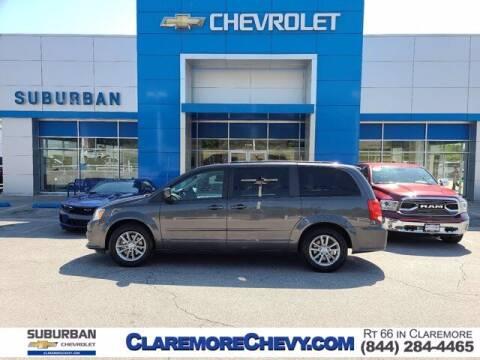 2016 Dodge Grand Caravan for sale at Suburban Chevrolet in Claremore OK