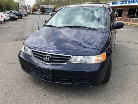 2004 Honda Odyssey for sale at REGIONAL AUTO CENTER in Stafford VA