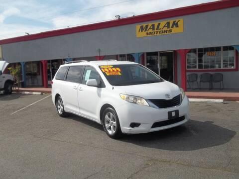 2012 Toyota Sienna for sale at Atayas Motors INC #1 in Sacramento CA