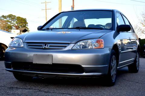2003 Honda Civic for sale at Wheel Deal Auto Sales LLC in Norfolk VA