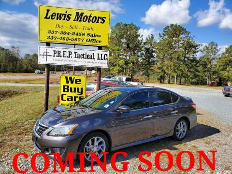 2013 Nissan Sentra for sale at Lewis Motors LLC in Deridder LA