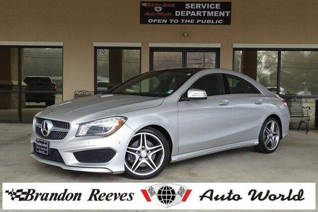 2014 Mercedes-Benz CLA for sale at Brandon Reeves Auto World in Monroe NC