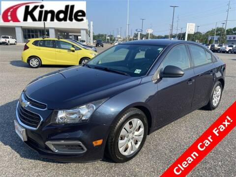 2016 Chevrolet Cruze Limited for sale at Kindle Auto Plaza in Cape May Court House NJ