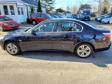 2010 BMW 5 Series for sale at Stellar Motor Group in Hudson NH
