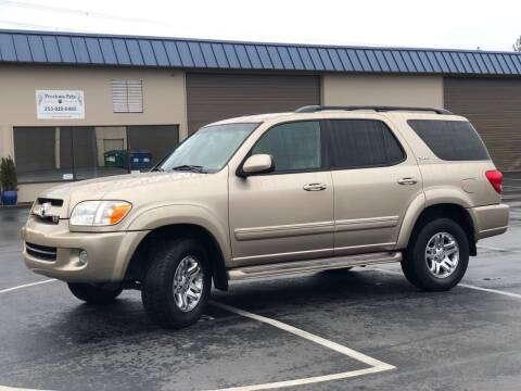 2007 Toyota Sequoia for sale at Exelon Auto Sales in Auburn WA