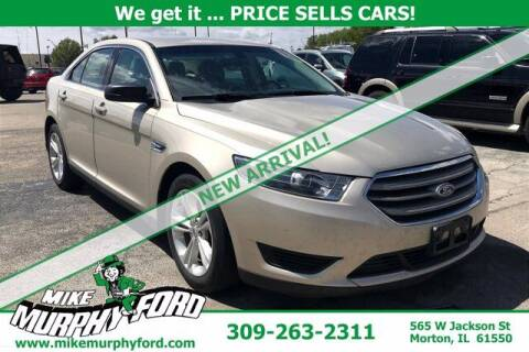 2017 Ford Taurus for sale at Mike Murphy Ford in Morton IL