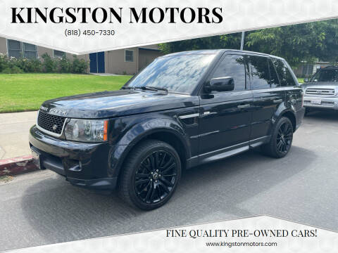 2011 Land Rover Range Rover Sport for sale at Kingston Motors in North Hollywood CA