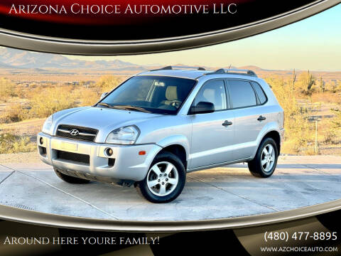 2007 Hyundai Tucson for sale at Arizona Choice Automotive LLC in Mesa AZ