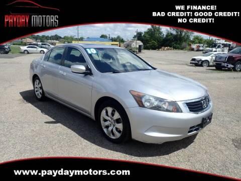 2010 Honda Accord for sale at Payday Motors in Wichita KS