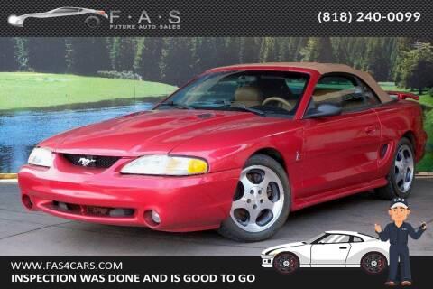 1996 Ford Mustang SVT Cobra for sale at Best Car Buy in Glendale CA