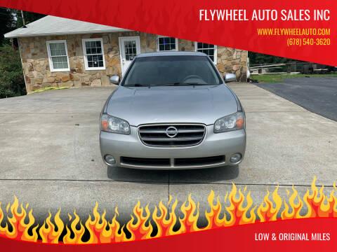 2003 Nissan Maxima for sale at Flywheel Auto Sales Inc in Woodstock GA