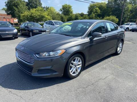 2016 Ford Fusion for sale at Starmount Motors in Charlotte NC