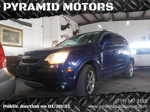 2012 Chevrolet Captiva Sport for sale at PYRAMID MOTORS - Pueblo Lot in Pueblo CO