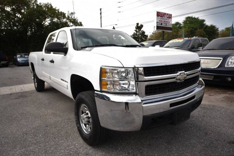 2007 Chevrolet Silverado 2500HD for sale at Grant Car Concepts in Orlando FL