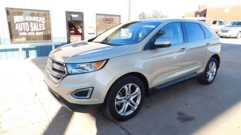 2018 Ford Edge for sale at Mid Kansas Auto Sales in Pratt KS