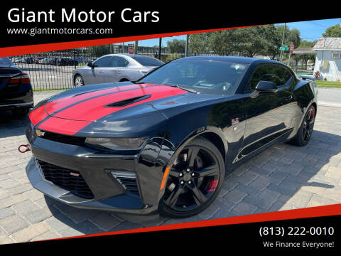 2017 Chevrolet Camaro for sale at Giant Motor Cars in Tampa FL