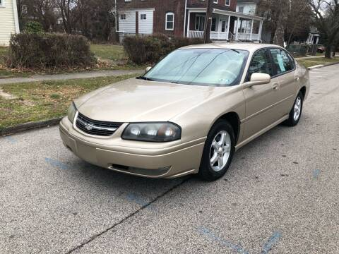 2005 Chevrolet Impala for sale at Michaels Used Cars Inc. in East Lansdowne PA