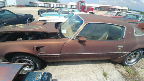 1978 Pontiac Firebird for sale at Heartland Classic Cars in Effingham IL
