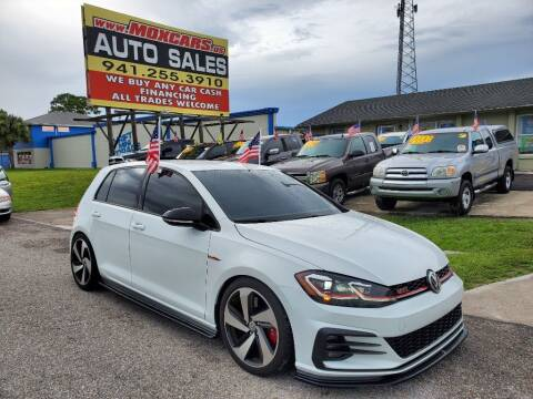 2019 Volkswagen Golf GTI for sale at Mox Motors in Port Charlotte FL