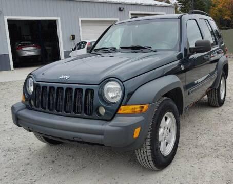 2006 Jeep Liberty for sale at Hilltop Auto in Prescott MI