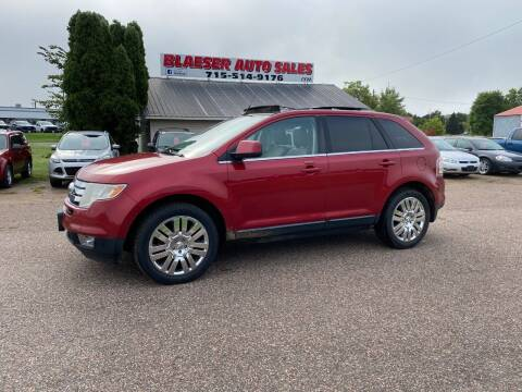2008 Ford Edge for sale at BLAESER AUTO LLC in Chippewa Falls WI