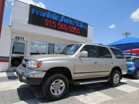 2002 Toyota 4Runner for sale at Franklin Auto Sales in El Paso TX
