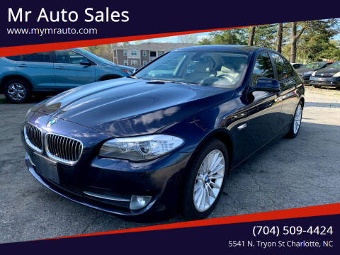 2012 BMW 5 Series for sale at Mr Auto Sales in Charlotte NC