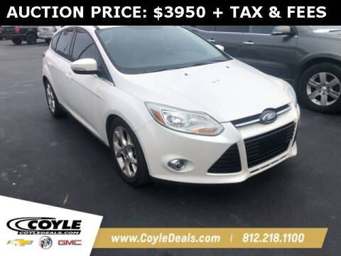 2012 Ford Focus for sale at COYLE GM - COYLE NISSAN in Clarksville IN