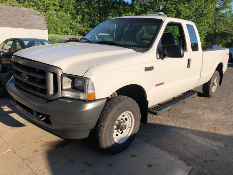 2003 Ford F-250 Super Duty for sale at CENTRAL AUTO SALES LLC in Norwich NY