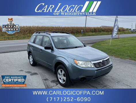 2010 Subaru Forester for sale at Car Logic in Wrightsville PA