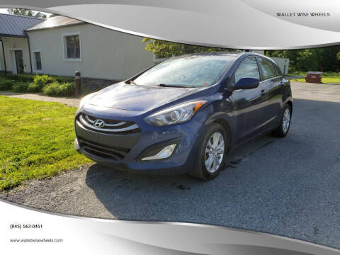 2013 Hyundai Elantra GT for sale at Wallet Wise Wheels in Montgomery NY