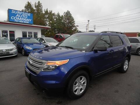 2013 Ford Explorer for sale at Surfside Auto Company in Norfolk VA