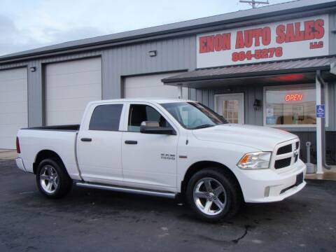 2013 RAM Ram Pickup 1500 for sale at ENON AUTO SALES in Enon OH