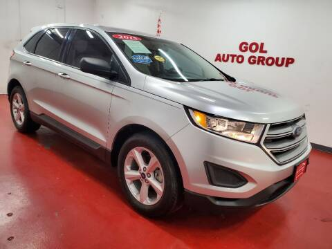 2015 Ford Edge for sale at GOL Auto Group in Austin TX