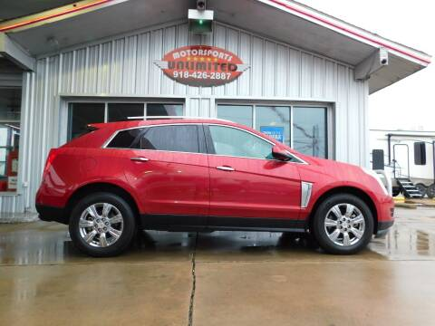 2015 Cadillac SRX for sale at Motorsports Unlimited in McAlester OK